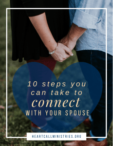 10 Ways To connect with your spouse